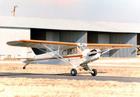 N38322 - My friend the late John Van Dyke on a check ride at the former Mangham Airport, North Richland Hills, TX - by Zane Adams