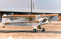 N38322 - My friend, the late John Van Dyke, on a check ride at the former Mangham Airport, North Richland Hills, TX - by Zane Adams