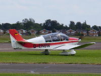 D-ENBW @ EGTC - Robin DR400-180R Remorqueur arrive to tow a lost glider home - by Chris Hall