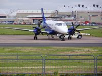 G-MAJL @ EGNR - The Hawarden - Filton daily shuttle - by chrishall