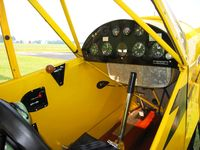 N6574H @ DLZ - Nicely restored panel & interior - by Bob Simmermon