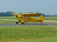 N6574H @ DLZ - Departing Delaware, OH - by Bob Simmermon