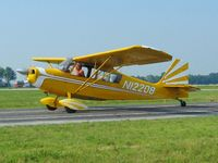 N12208 @ DLZ - Departing Delaware, OH - by Bob Simmermon