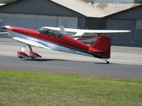 N142JG @ SZP - 1999 Evans VAN's RV-4, Lycoming IO-540 250 Hp, landing roll Rwy 22 - by Doug Robertson