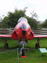 51-17473 @ EGBE - Lockheed T-33A cn 580-7367 - by chrishall