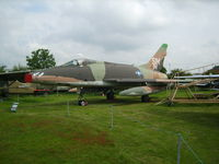 54-2174 @ EGBE - North American F-100D Super Sabre (cn 223-54) - by chrishall