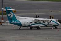 I-ADLP @ VIE - Air Dolomiti Aérospatiale ATR-42