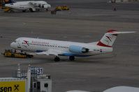 OE-LVN @ VIE - 1991 Fokker F28-0100 / F-100