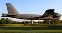 59-2601 @ LFI - USAF Boeing B-52G Stratofortress 59-2601 rests proudly and peacefully on display near the La Salle Street Gate at Langley AFB. This is one of nine B-52G's that have been preserved and put on display. - by Dean Heald