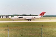 N8960E @ GRR - NWA1775 - DTW-GRR - Landing RWY 26L - by Mel II