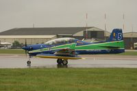 1360 @ EGVA - Taken at the Royal International Air Tattoo 2008 during arrivals and departures (show days cancelled due to bad weather) - by Steve Staunton