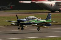 1435 @ EGVA - Taken at the Royal International Air Tattoo 2008 during arrivals and departures (show days cancelled due to bad weather) - by Steve Staunton