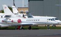 C-GXBB @ EGGW - Canadian Falcon 50 at Luton - by Terry Fletcher