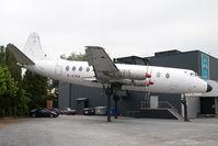 G-AZNA @ ZOMERGEM - Viscount on display at Zomergem