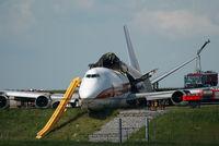 N704CK @ BRU - Kalitta Boeing 747-200