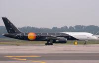 G-ZAPU @ LIMC - Titan Airways 757 At Milan Malpensa - by Steve Hambleton