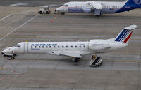 F-GOHA @ BRU - Regional Airlines Embraer 135 in Air France colors