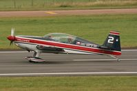 145 @ EGVA - Taken at the Royal International Air Tattoo 2008 during arrivals and departures (show days cancelled due to bad weather) - by Steve Staunton