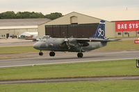 2507 @ EGVA - Taken at the Royal International Air Tattoo 2008 during arrivals and departures (show days cancelled due to bad weather) - by Steve Staunton