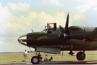 N5546N @ HRL - The ill fated CAF B-26 Carolyn at Airsho 86