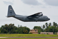 63-7895 @ BQN - Low Pass of Puerto Rico National Guard - by Hector A Rivera Valentin