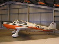 D-EBLO @ EGBT - Bolkow 207 hangared at Turweston - by Simon Palmer