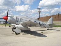 N71GB @ KRFD - Hawker Sea Fury TMJ 20 - by Mark Pasqualino