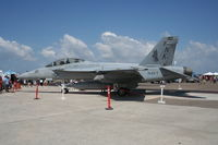 166803 @ LAL - F/A-18F - by Florida Metal