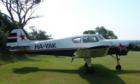 HA-YAK - a visitor to Baxterley Wings and Wheels 2008 , a grass strip in rural Warwickshire in the UK