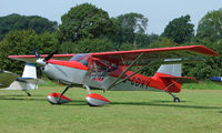 G-CDXY - Skystar Kitfox Mk7 - a visitor to Baxterley Wings and Wheels 2008 , a grass strip in rural Warwickshire in the UK
