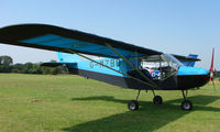 G-MZBD - Rans S6 -ESD XL - a visitor to Baxterley Wings and Wheels 2008 , a grass strip in rural Warwickshire in the UK