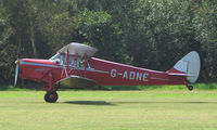 G-ADNE - 1936 Hornet Moth - a visitor to Baxterley Wings and Wheels 2008 , a grass strip in rural Warwickshire in the UK