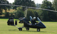 G-RIFS - a visitor to Baxterley Wings and Wheels 2008 , a grass strip in rural Warwickshire in the UK