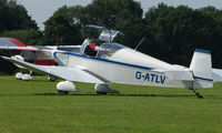 G-ATLV - Jodel D120 - a visitor to Baxterley Wings and Wheels 2008 , a grass strip in rural Warwickshire in the UK