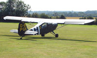 G-BPGK - 1956 Aeronca 7AC - a visitor to Baxterley Wings and Wheels 2008 , a grass strip in rural Warwickshire in the UK