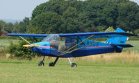 G-MYUZ - Rans S6-ESD - a visitor to Baxterley Wings and Wheels 2008 , a grass strip in rural Warwickshire in the UK