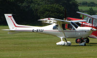 G-BYSF - Jabiru UL - a visitor to Baxterley Wings and Wheels 2008 , a grass strip in rural Warwickshire in the UK