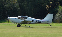 G-IMAB - Europa XS - a visitor to Baxterley Wings and Wheels 2008 , a grass strip in rural Warwickshire in the UK