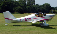 G-BXII - Europa - a visitor to Baxterley Wings and Wheels 2008 , a grass strip in rural Warwickshire in the UK
