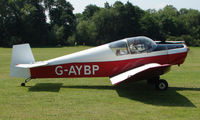G-AYBP - Jodel D112 - a visitor to Baxterley Wings and Wheels 2008 , a grass strip in rural Warwickshire in the UK