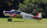 G-BGTX - Jodel D117 - a visitor to Baxterley Wings and Wheels 2008 , a grass strip in rural Warwickshire in the UK