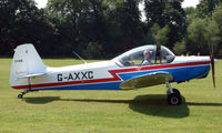 G-AXXC @ X3BX - a visitor to Baxterley Wings and Wheels 2008 , a grass strip in rural Warwickshire in the UK
