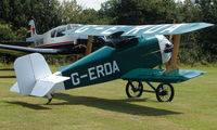 G-ERDA - Another Flitzer - a visitor to Baxterley Wings and Wheels 2008 , a grass strip in rural Warwickshire in the UK