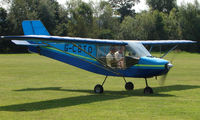 G-CBTO - Rans S6-ES - a visitor to Baxterley Wings and Wheels 2008 , a grass strip in rural Warwickshire in the UK
