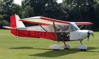 G-CCKG - Skyranger 912 - a visitor to Baxterley Wings and Wheels 2008 , a grass strip in rural Warwickshire in the UK