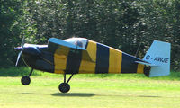 G-AWJE @ X3BX - Bumble Bee Little Nipper -   a visitor to Baxterley Wings and Wheels 2008 , a grass strip in rural Warwickshire in the UK