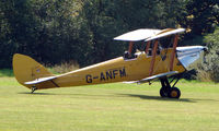 G-ANFM - 1941 Tiger Moth - a visitor to Baxterley Wings and Wheels 2008 , a grass strip in rural Warwickshire in the UK