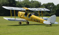 G-AOBX - 1940 Tiger Moth a visitor to Baxterley Wings and Wheels 2008 , a grass strip in rural Warwickshire in the UK