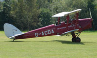 G-ACDA - 1934 Tiger Moth - a visitor to Baxterley Wings and Wheels 2008 , a grass strip in rural Warwickshire in the UK