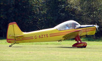 G-AZYS - Scintex CP301-C1 - a visitor to Baxterley Wings and Wheels 2008 , a grass strip in rural Warwickshire in the UK